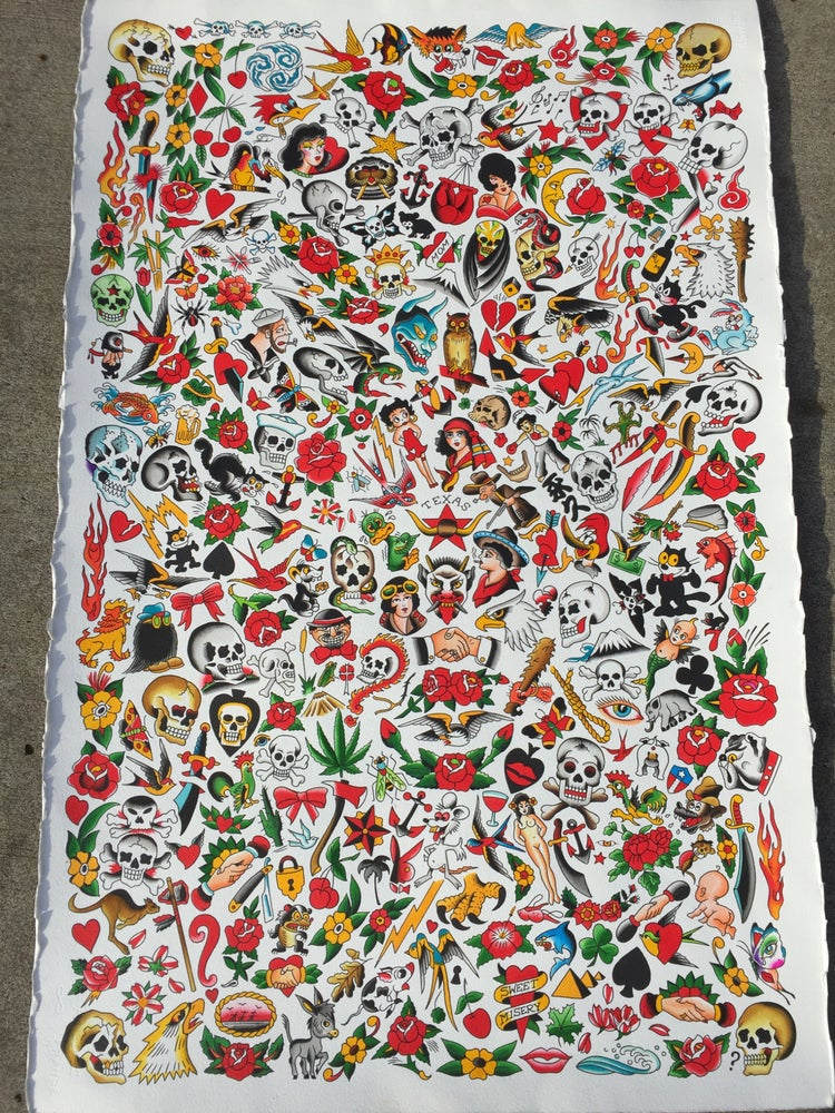 Image of Giant Giclee Traditional sheet (40 by 26)