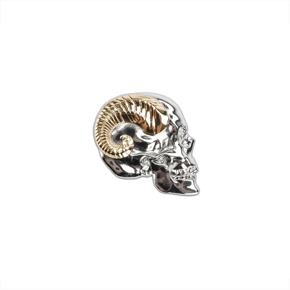Image of Lie (Skull) Pin