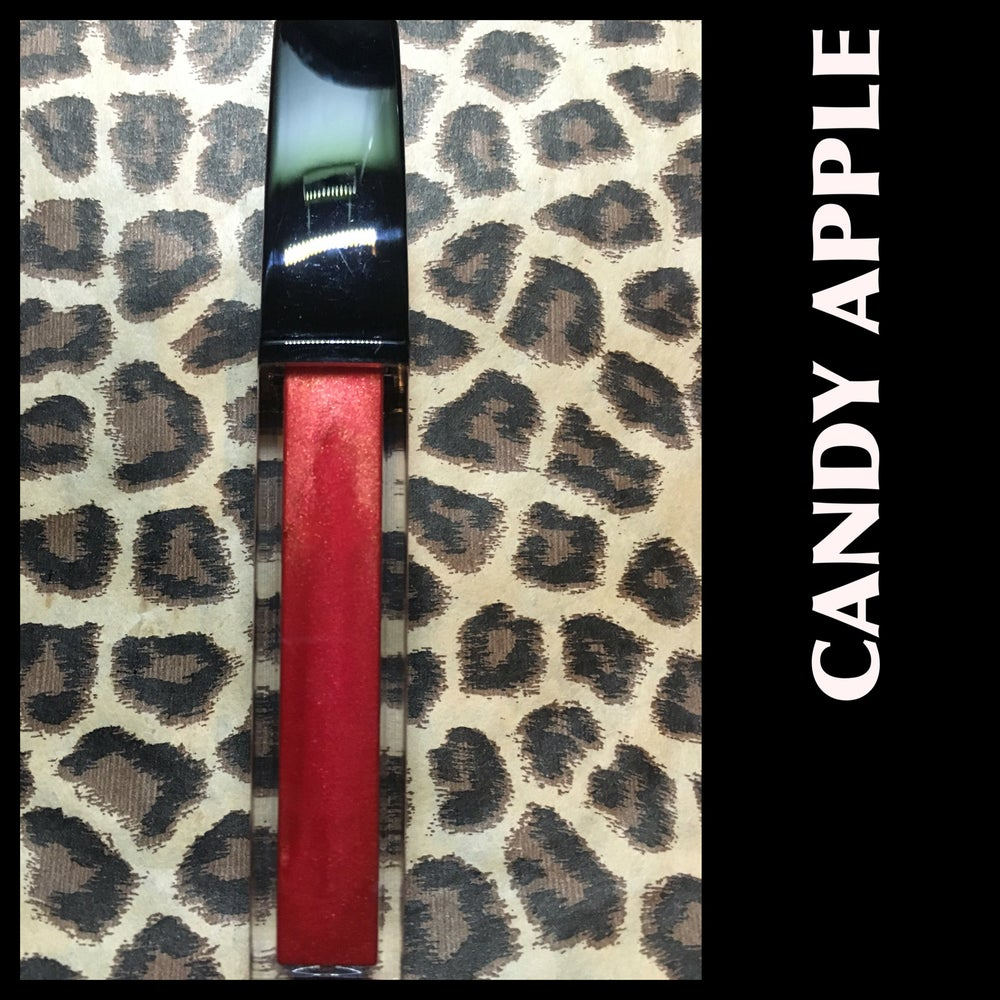 Image of LUSCIOUS LIQUID LIPSTICK(METALLIC) -CANDY APPLE