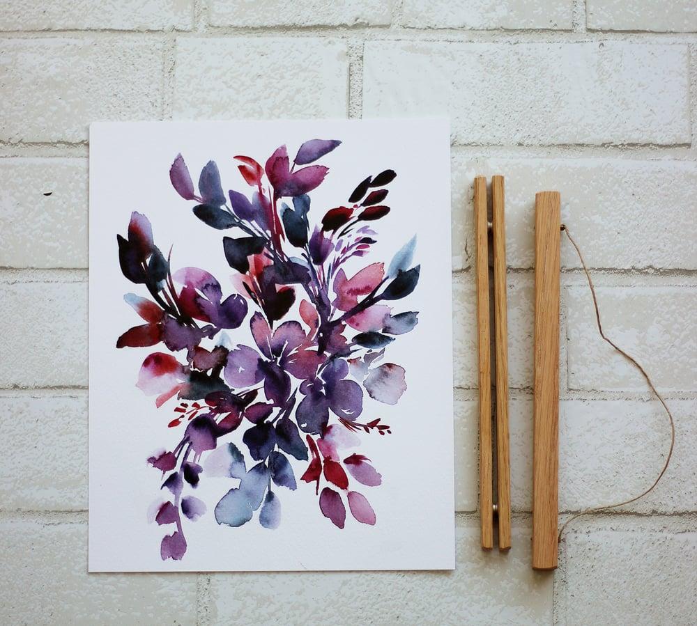 Image of Purple boquet