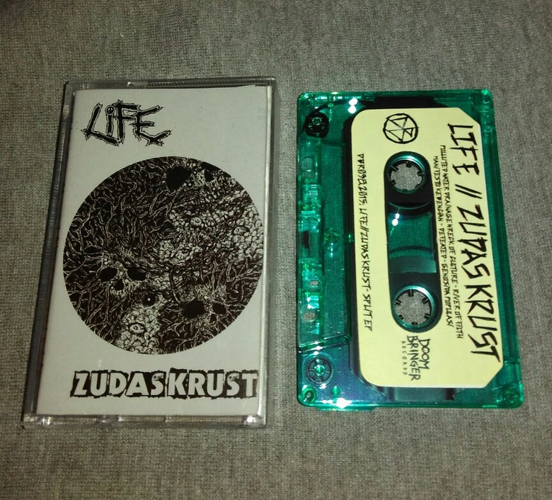 Image of Life / ZudasKrust split EP Tape