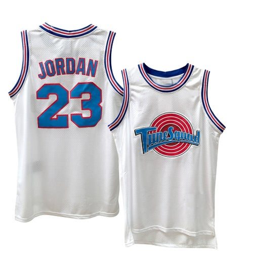 "Image of SPACE JAM TUNE SQUAD ""JORDAN"" #23 BASKETBALL JERSEY"