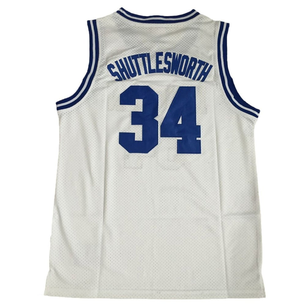 """Image of RAY ALLEN """"SHUTTLESWORTH"""" #34 HE GOT GAME LINCOLN HIGH JERSEY"""