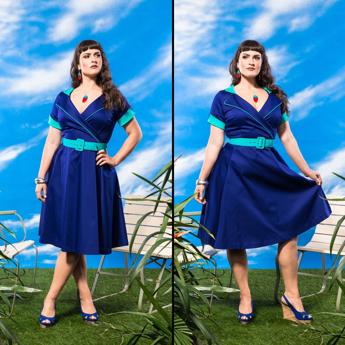 Image of JARDIN DE LA RIVIERA FROCK (other options available)
