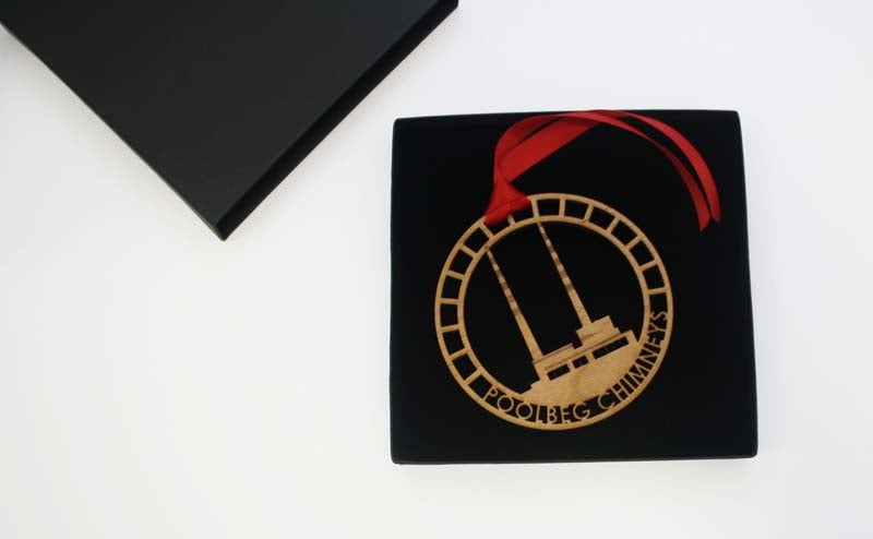 Image of Poolbeg Towers Gift Ornament