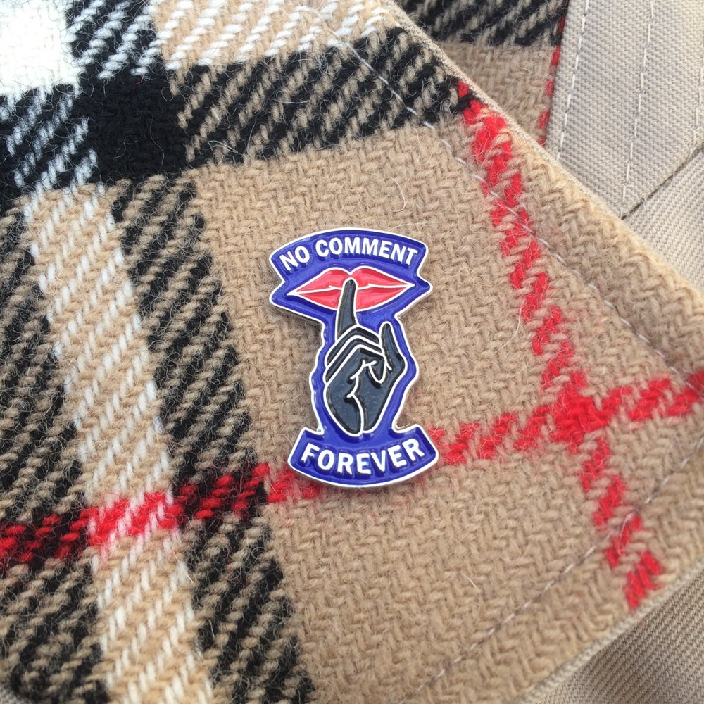 Image of No Comment Forever - New Colourway Pin Badge