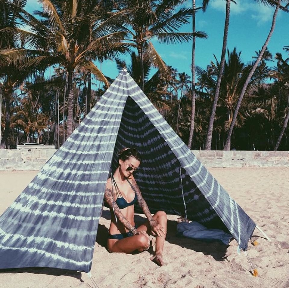 Image of GREY TIE DYE BEACHTIPI
