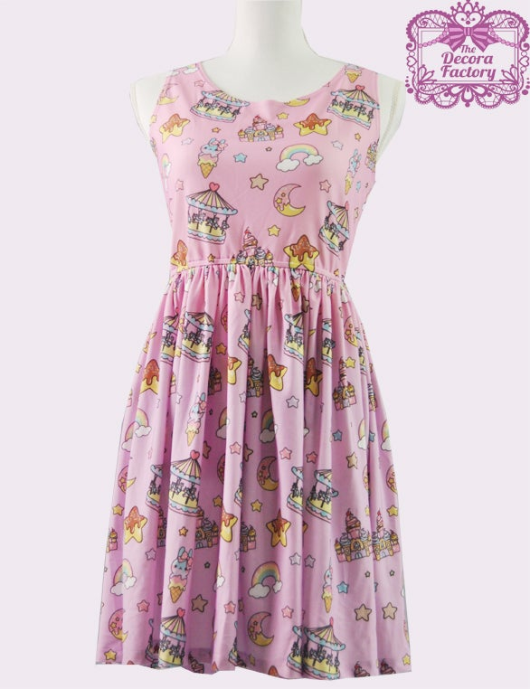 Image of Dreaming of Desserts Skater Dress
