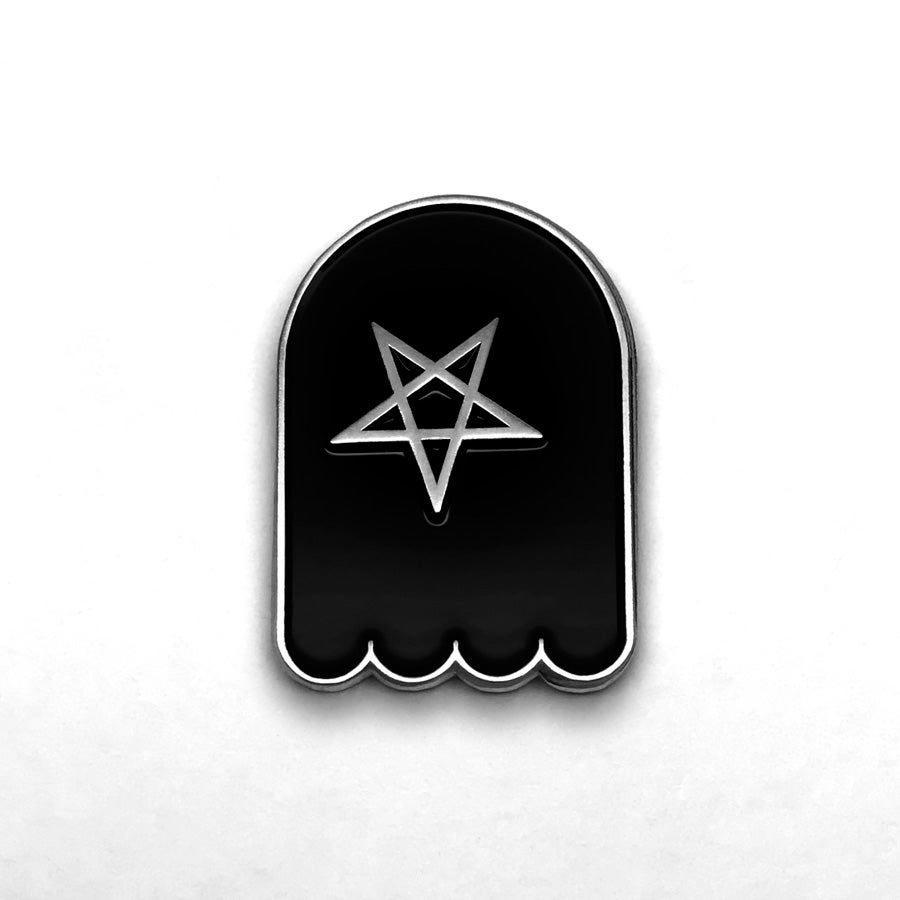 Image of Pentacle Ghost Pin
