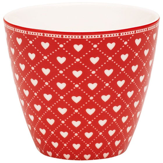 Image of GreenGate Latte Cup ~ Haven Red
