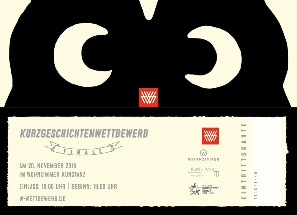 Image of W.-Kurzgeschichtenwettbewerb FINALE |Tickets - Eintrittskarten