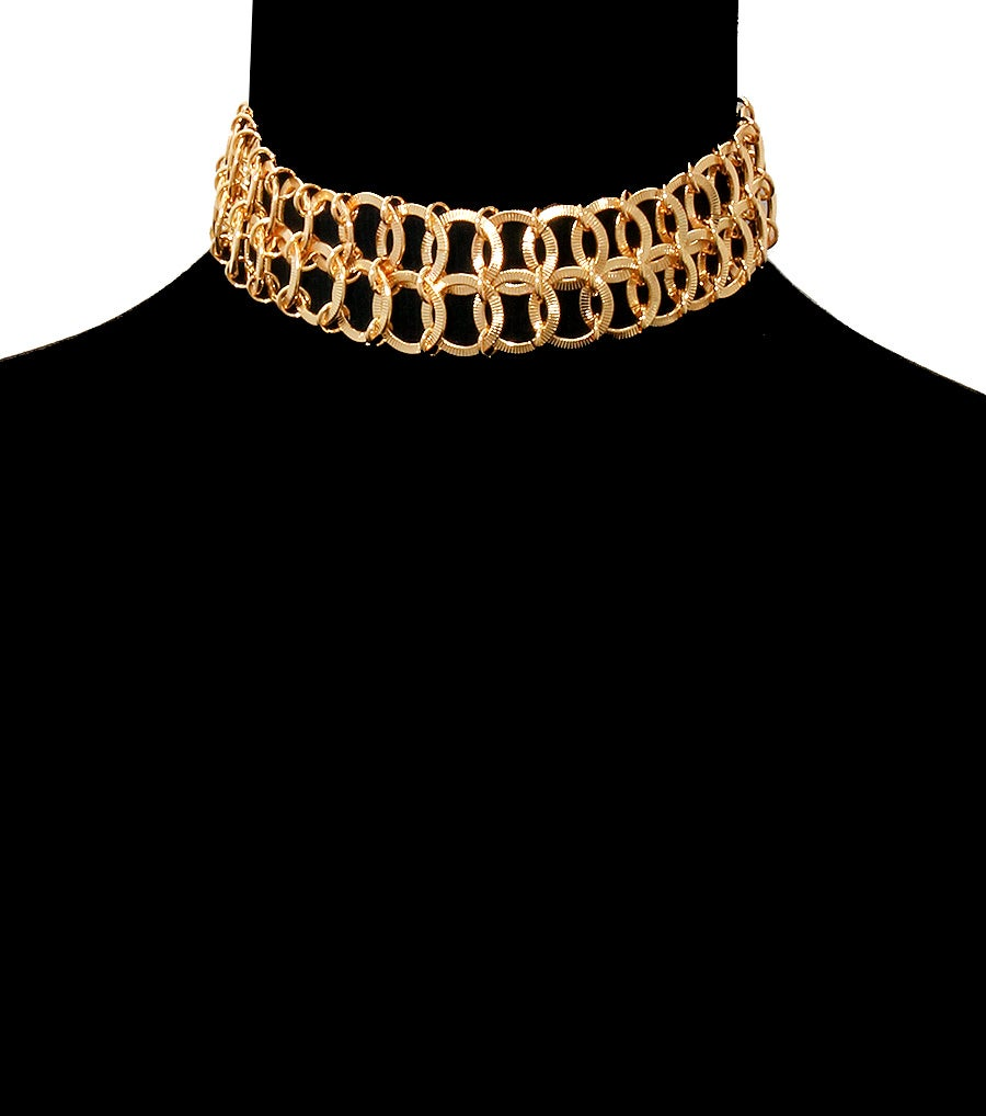 Image of Double Chains Choker