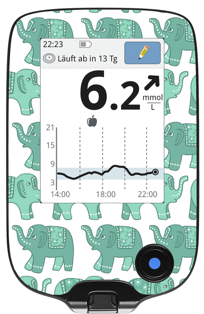 Image of Little Elephants Freestyle Libre Screen Protector