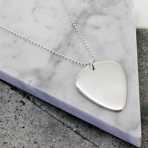 Image of GUITAR PICK NECKLACE