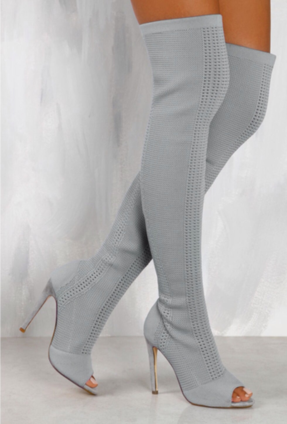 All the Envy Grey Boot