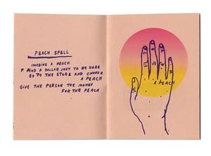 Peach Spell by Sarah McNeil