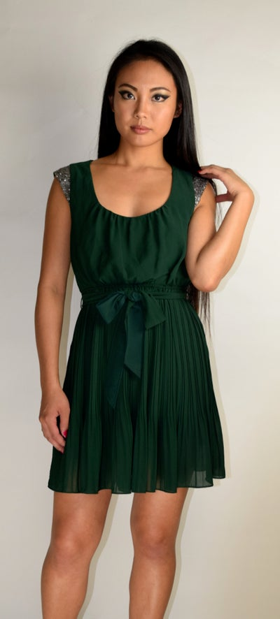 Image of Emerald Evening Dress
