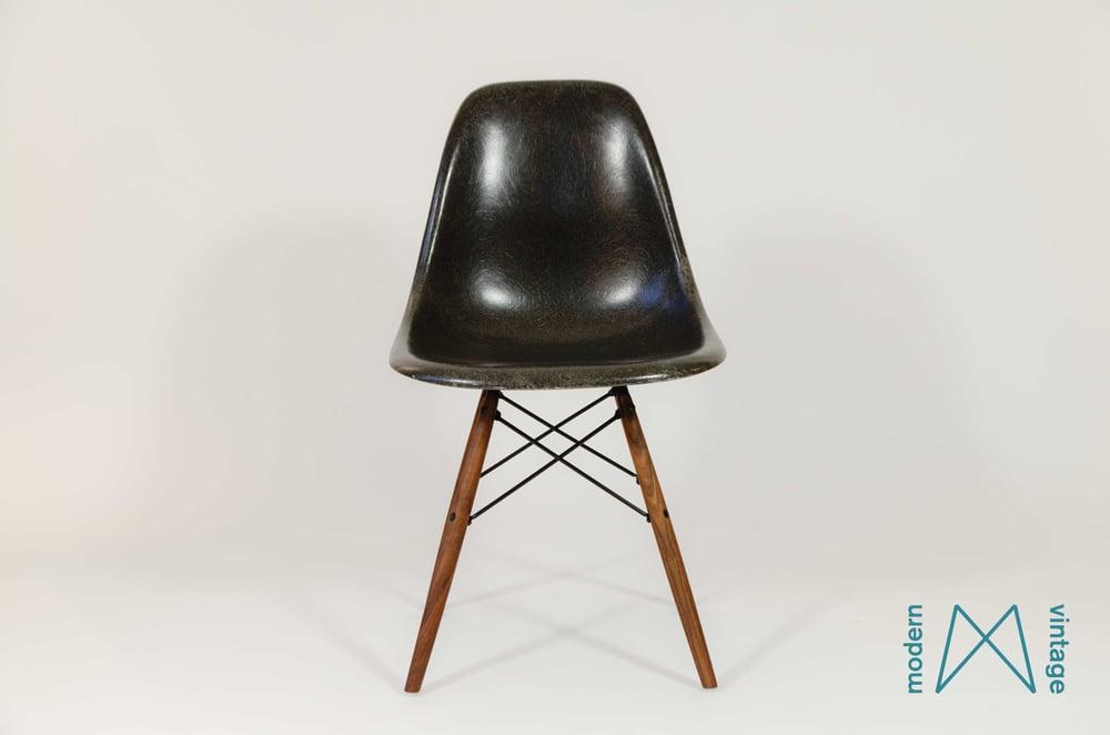 Image of Eames Herman Miller Vitra  charcoal original design DSW/DSR/DSX