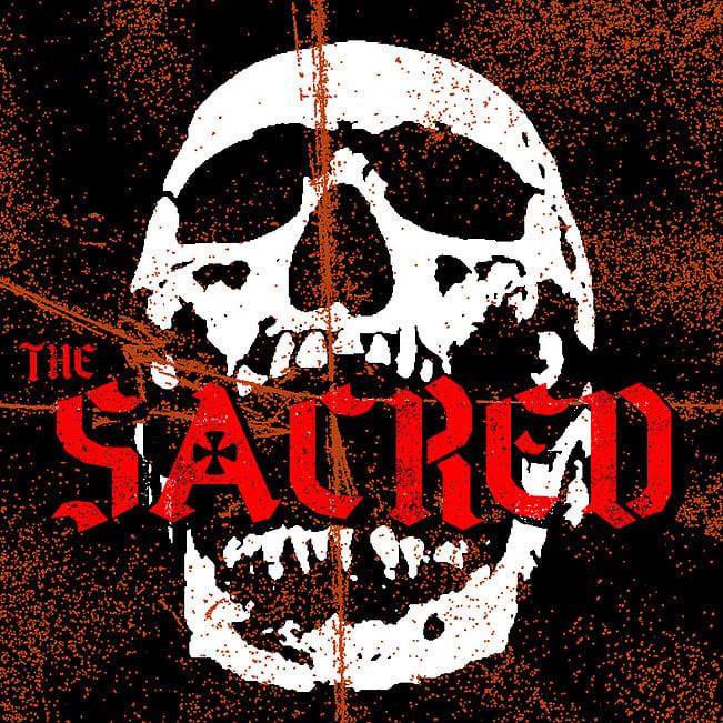 "Image of The Sacred ""Lovesick Pills / Sick Society 7"" Limited Ed 100 Translucent Film Sleeve"