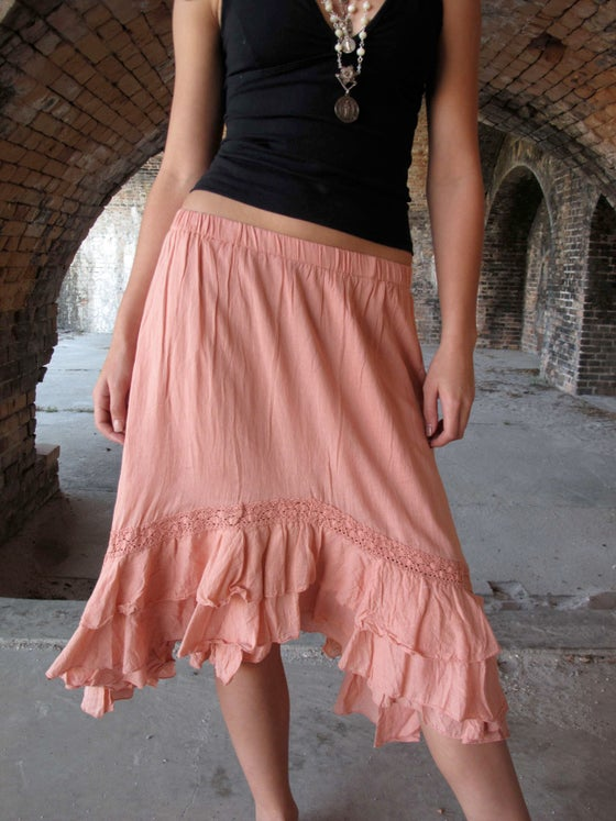 Image of Victoria Cotton Skirt