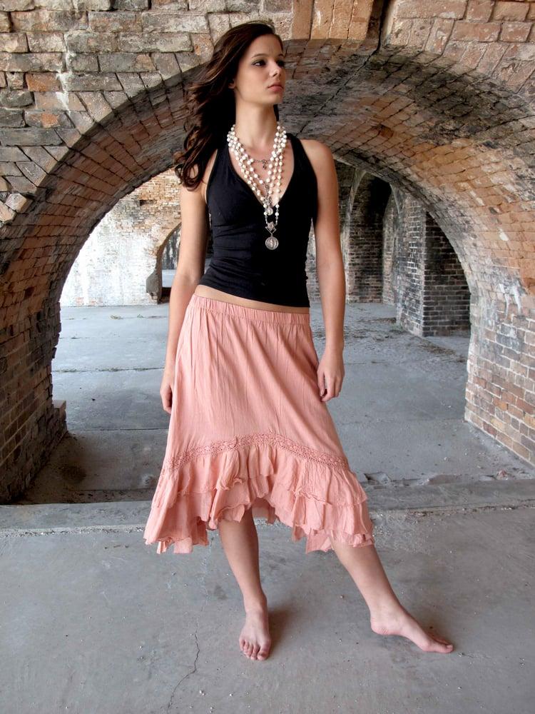 Image of Victoria Cotton Skirt