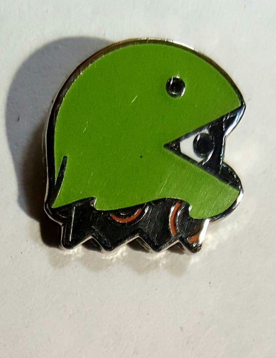 Image of Ghost in Costume Glow Pin LE 100