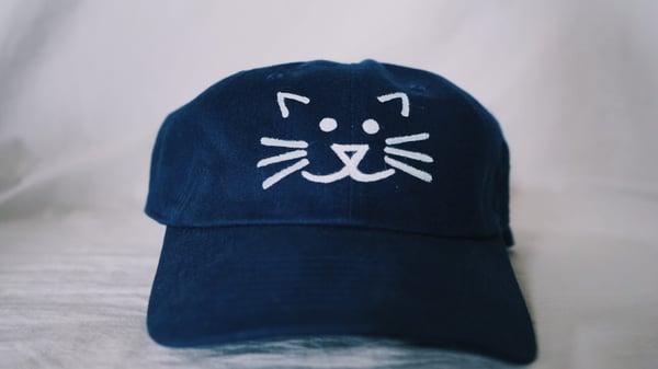 Image of kittyshels logo hat