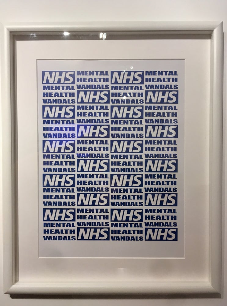 Image of NHS MHV print