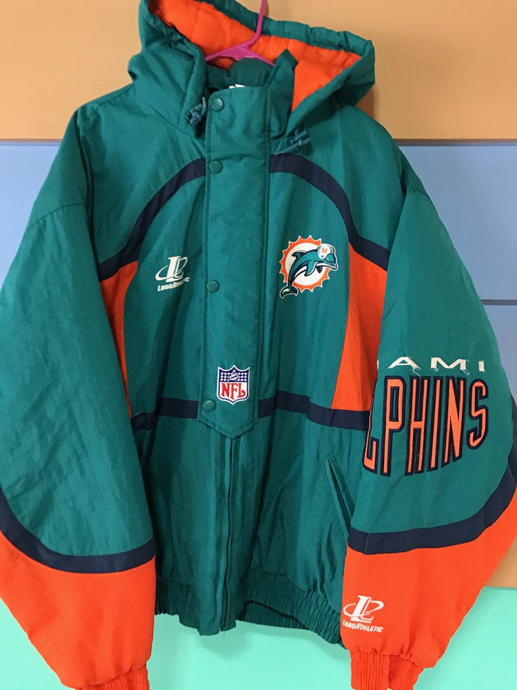the latest bf92b c812d Vintage Miami Dolphins jacket
