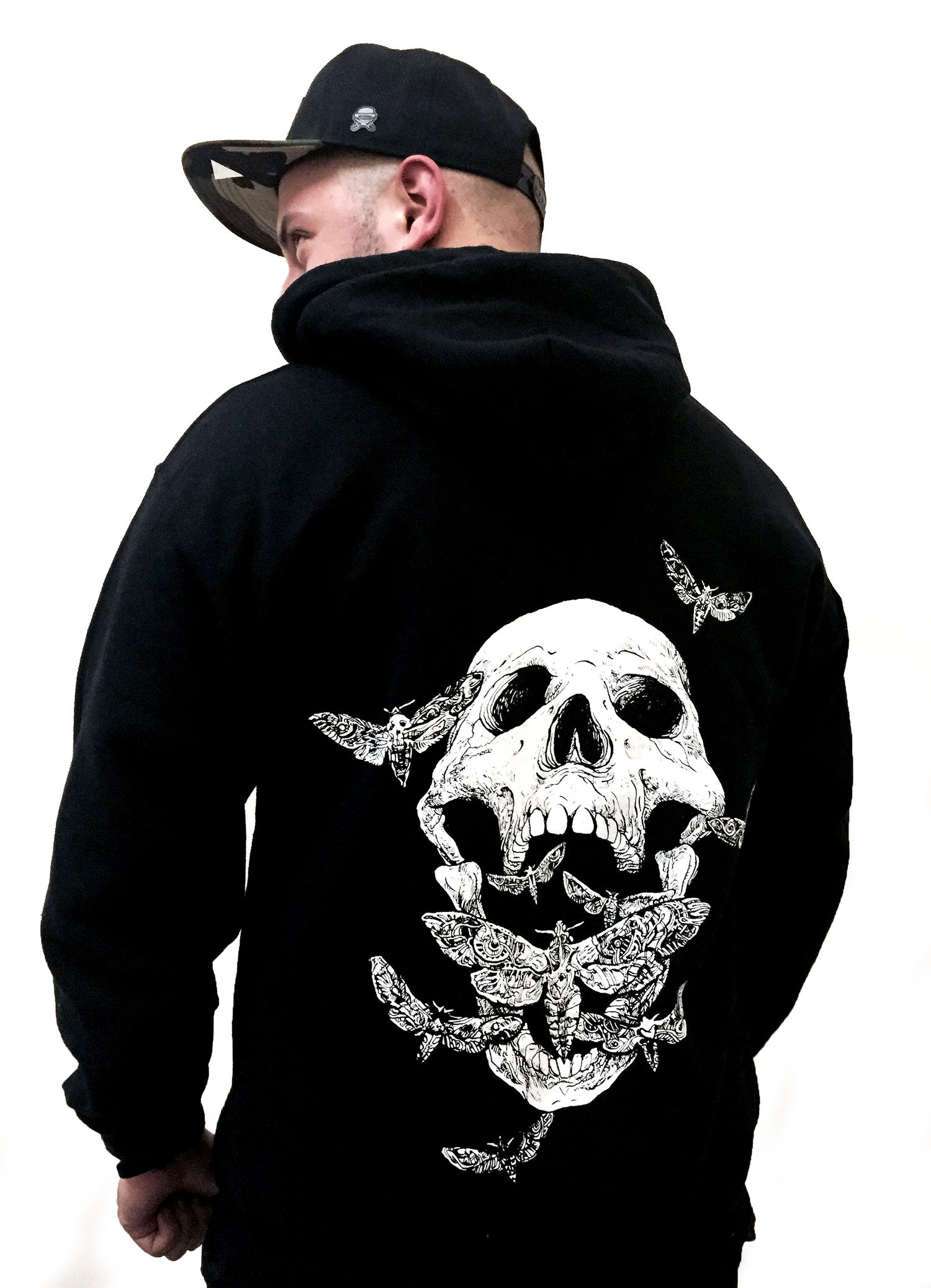 Image of MOTH SCREAM HOODIE