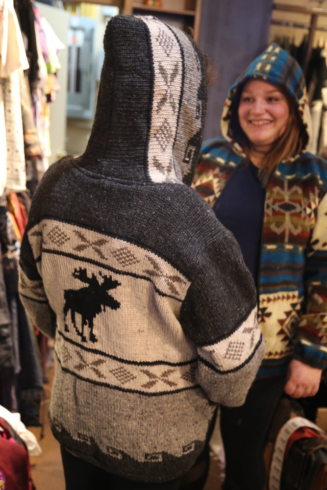 Image of Moose Wool Sweater Handknit