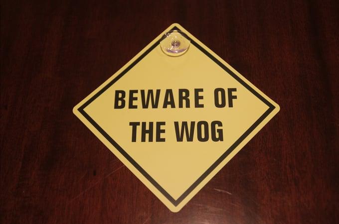 Image of Warning Sign