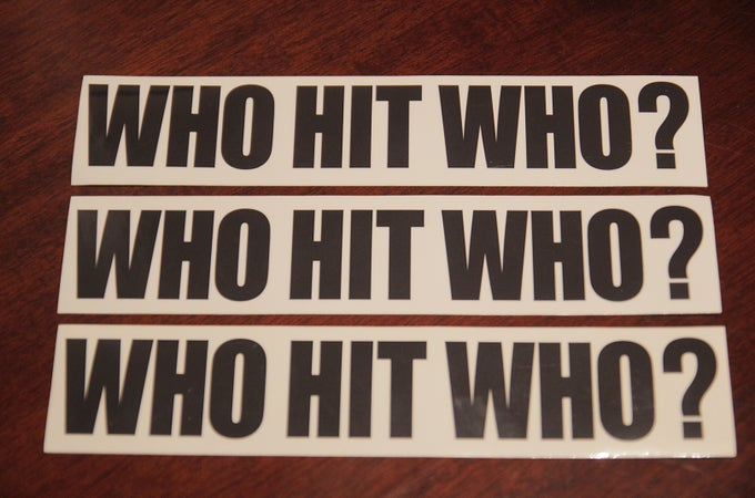 Image of Bumper Sticker