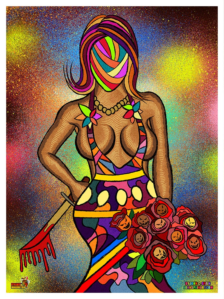 """Image of """"Jaded"""" 18x24 Poster Print"""