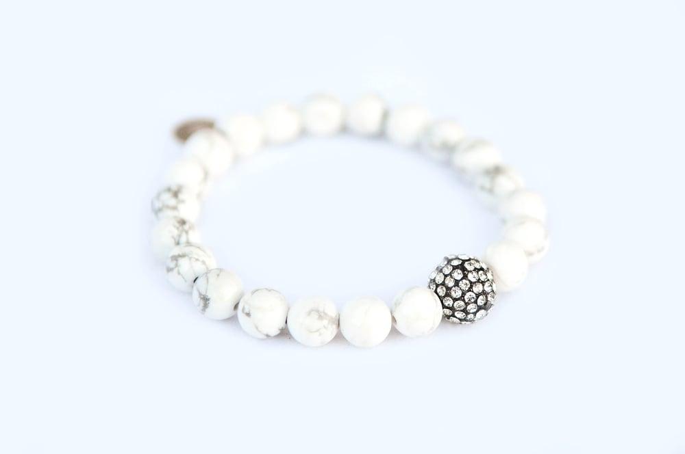 Image of White Howlite Bracelet