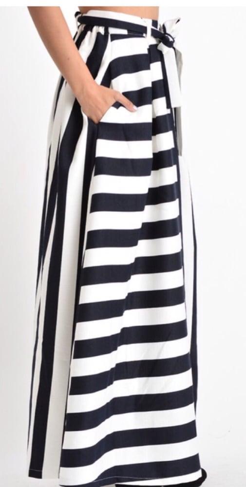 Image of Stripe Super Long Maxi