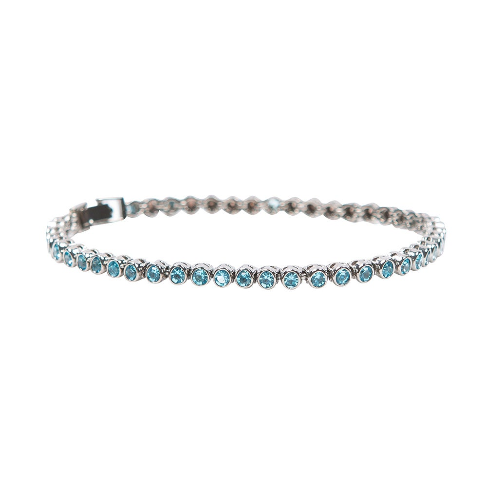 Image of Electric Blue Tennis Bracelet