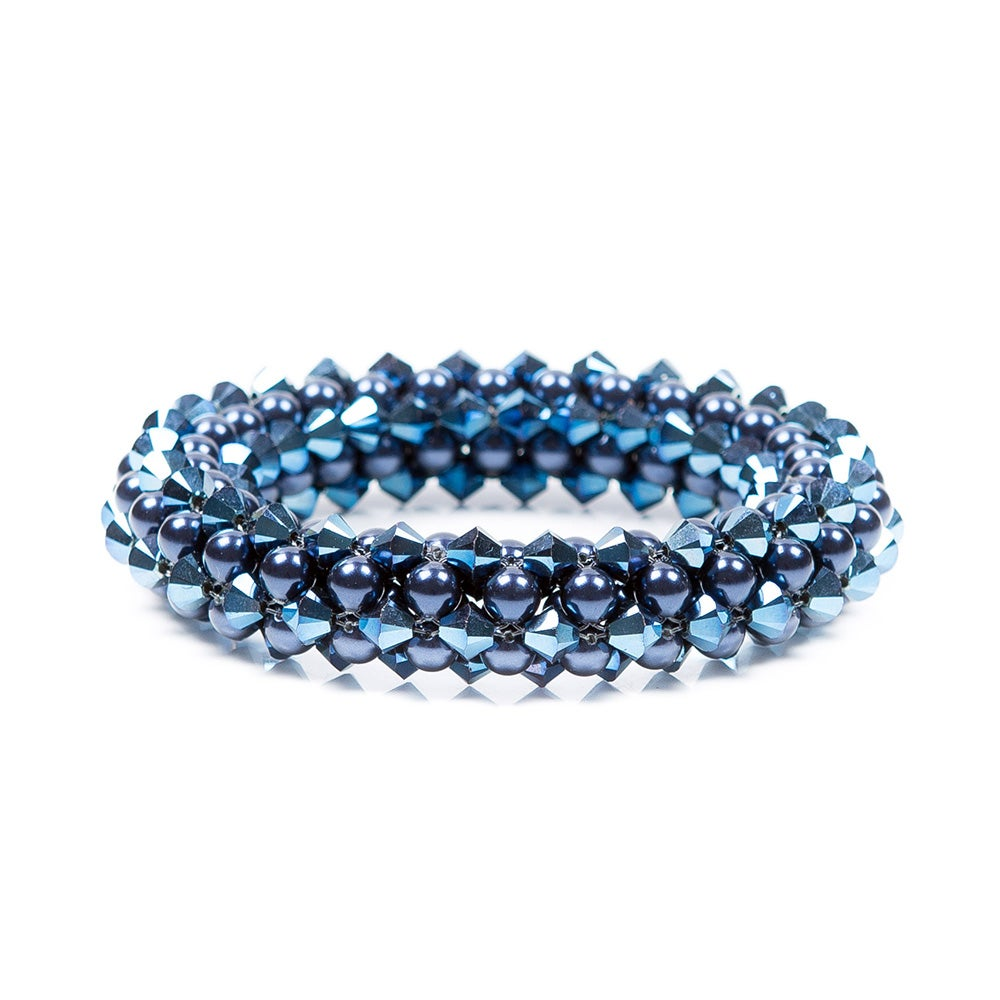 rope black supplies u products plain blue lock bracelet