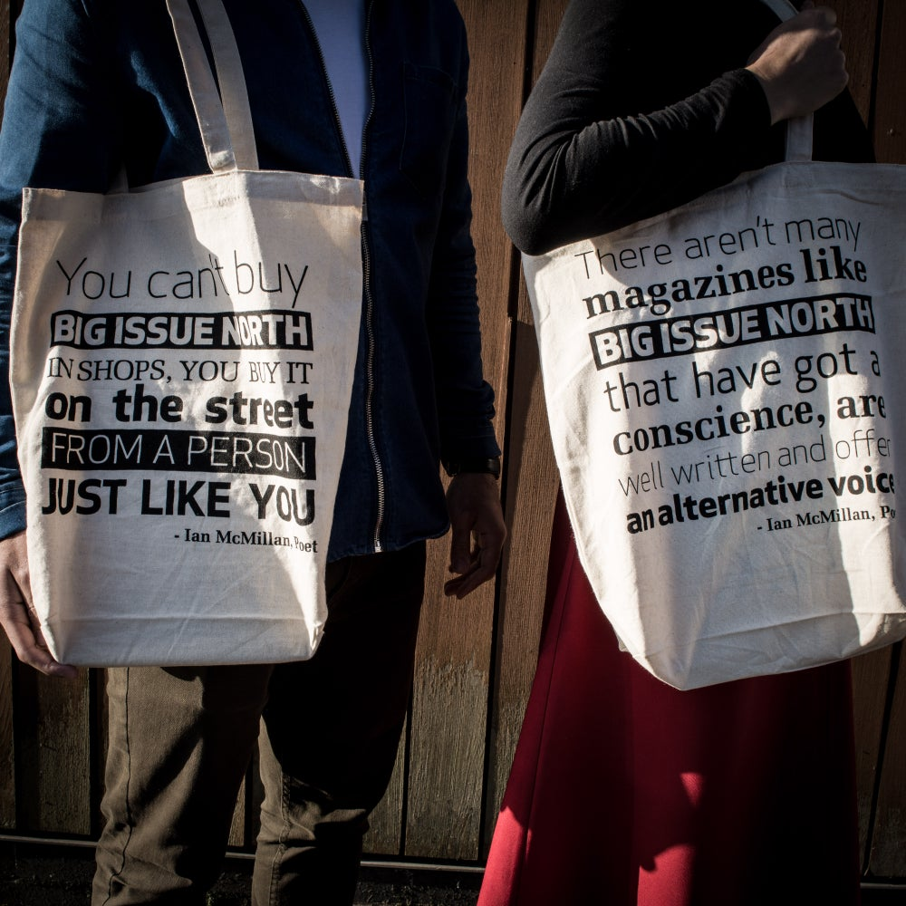 Image of Big Issue North Tote Bag