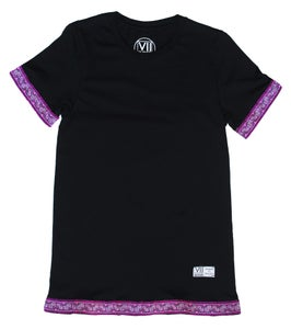 "Image of ""Roots & Culture"" Tee (Magenta)"