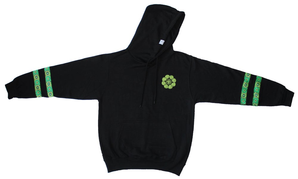 "Image of ""Roots & Culture"" Pullover Hoodie (Green)"