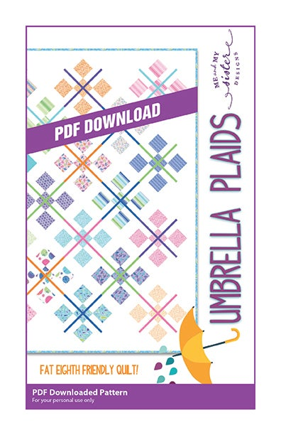 Image of Umbrella Plaids PDF pattern