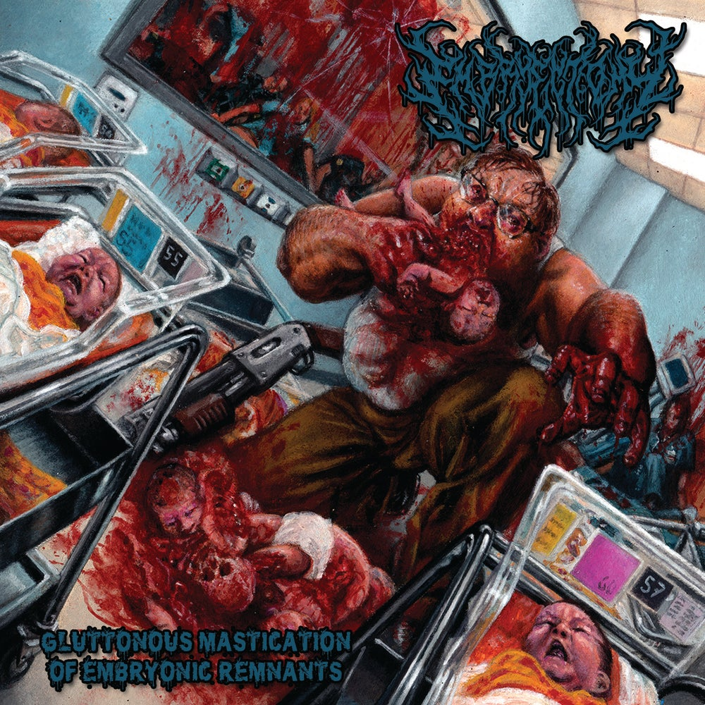 """Image of """"Gluttonous Mastication of Embryonic Remnants"""" full length album"""