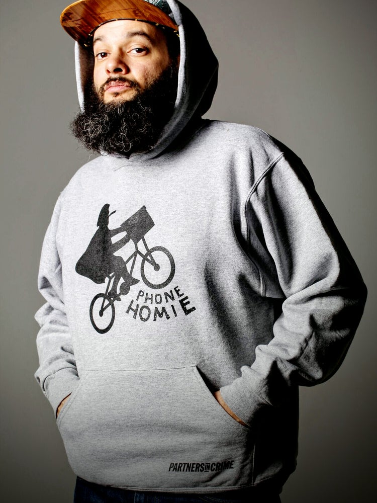 Image of Phone Homie Biker Sweatshirt