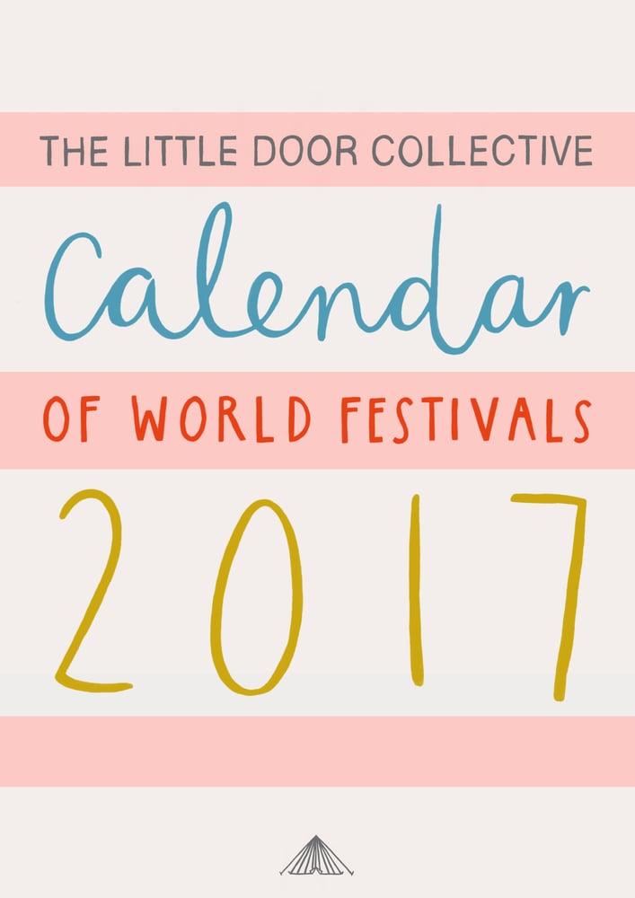 Image of 2017 Calendar of World Festivals