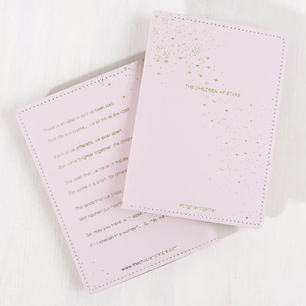 Image of The Children of Stars Passport Cover – Blush