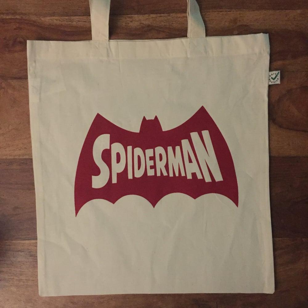 Image of Spider-man-batman-man *TOTES - Natural*