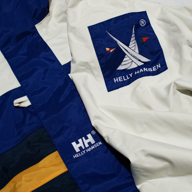 Image of Helly Hansen Twins Sail 90s Vintage Sailing Jacket M