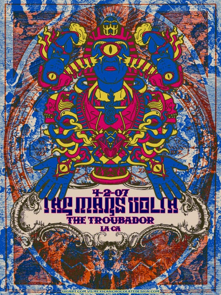 Image of The Mars Volta Troubadour Variant 2007