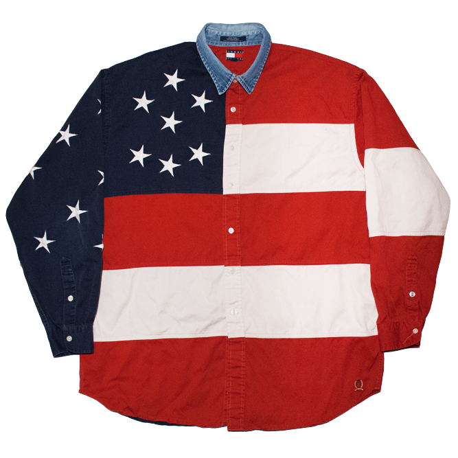 Image of Tommy Hilfiger Vintage Star&Stripes Shirt